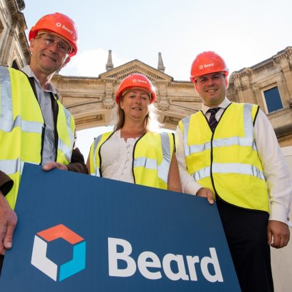 Beard start work on the new Roman Baths Learning Centre and World Heritage Centre
